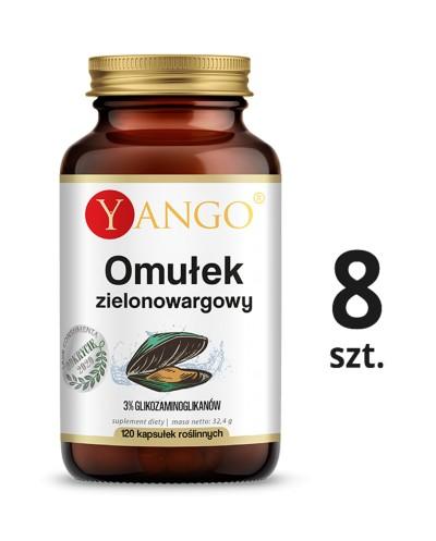 8 szt. Palma sabałowa z kordycepsem - ekstrakt - 100 kapsułek