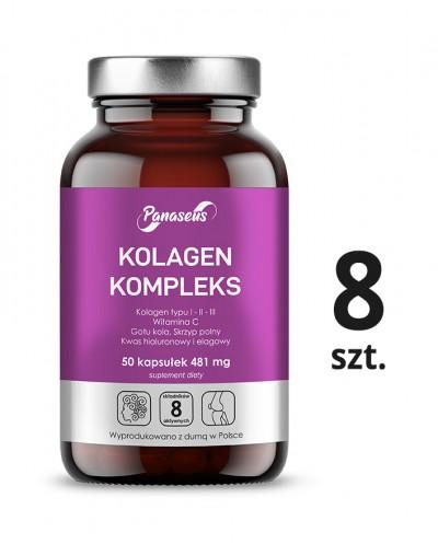 8 szt. Kolagen dla mężczyzn 6 000 mg - 500 ml