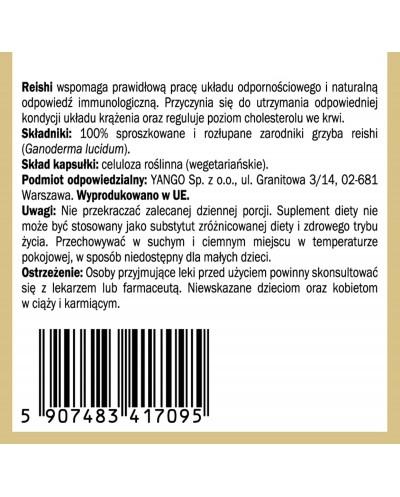 Zarodniki Reishi - 100 kapsułek